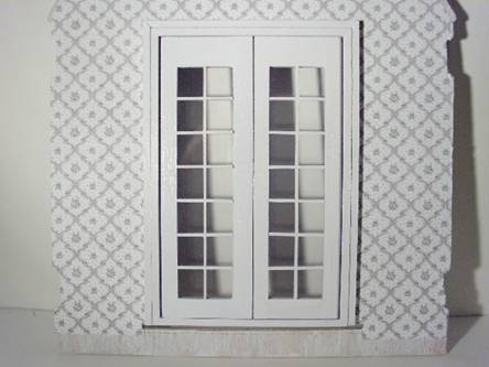 French Doors for Dollhouses & Greenleaf Dollhouse Kits - April 2009 Newsletter