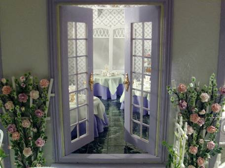 Greenleaf dollhouse kits april 2009 newsletter for French doors without windows
