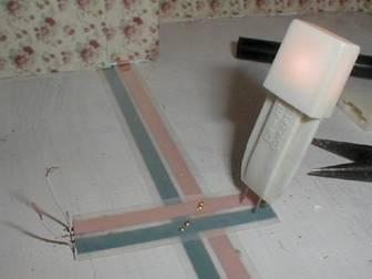 How to wire your dollhouse