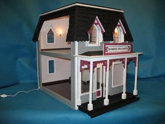 dollhouse wiring rh greenleafdollhouses com Wiring a Dollhouse for Lights Dollhouse Electrical Wiring