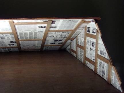 wallpaper newspaper. Newspaper those walls