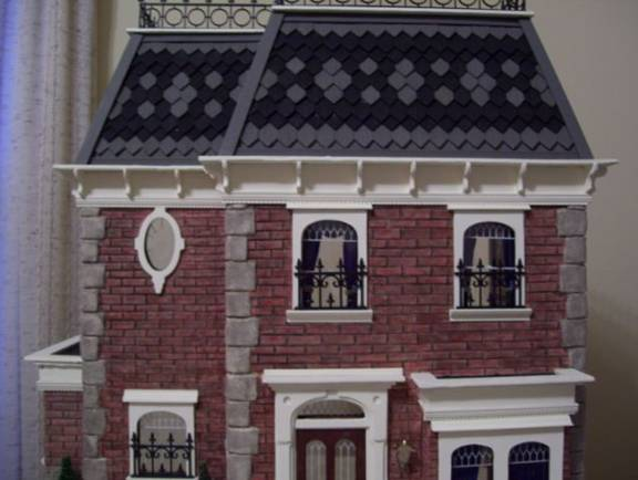 Rosedale Dollhouse Roof