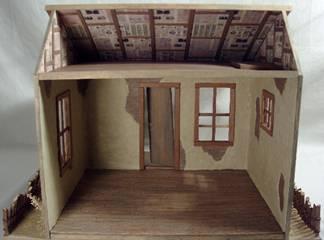 How To Add Hardwood Dollhouse Floors