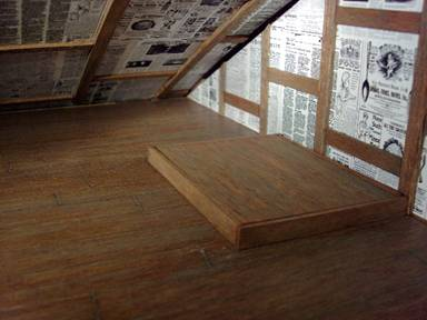 How To Make A Dollhouse Door In The Floor
