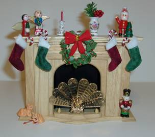 christmas miniatures - Miniature Christmas Decorations For Dollhouses