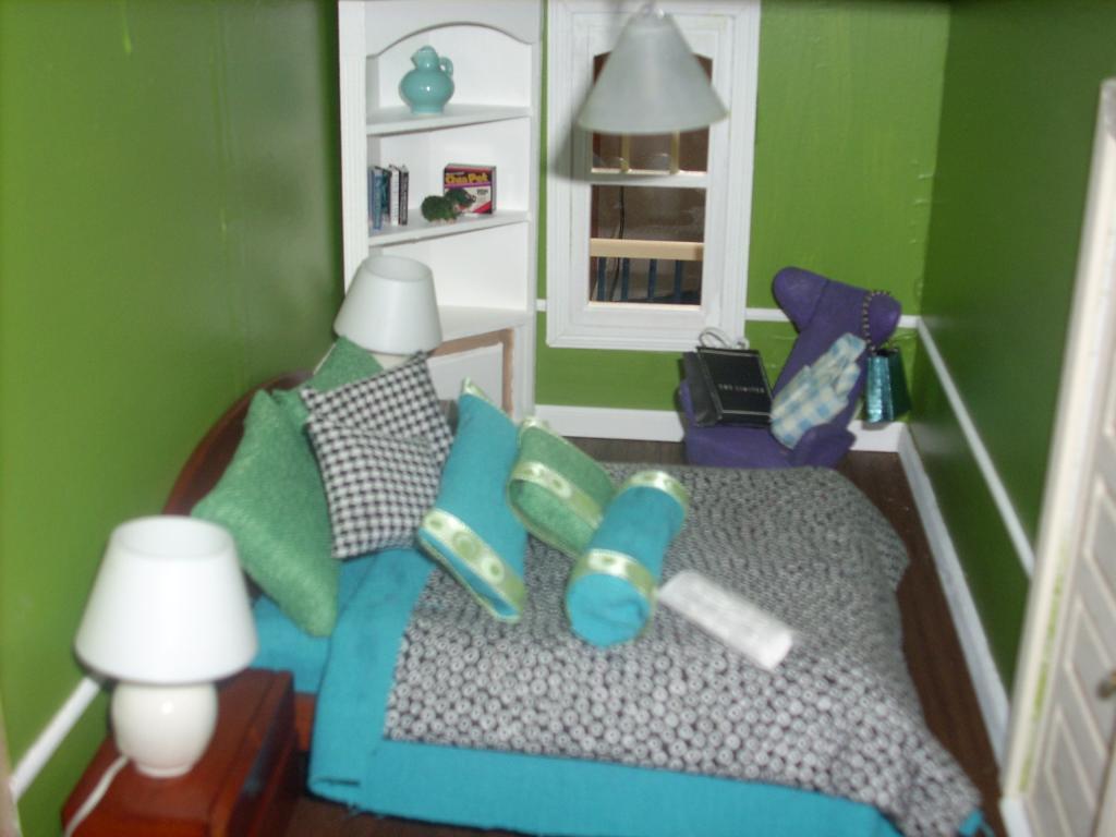 Shelves and chia pet
