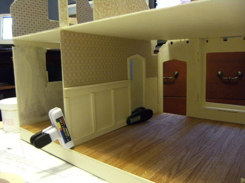 Living Room Wainscoting