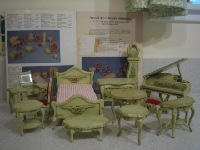French 18th C. Furniture By Rosie Rabbit
