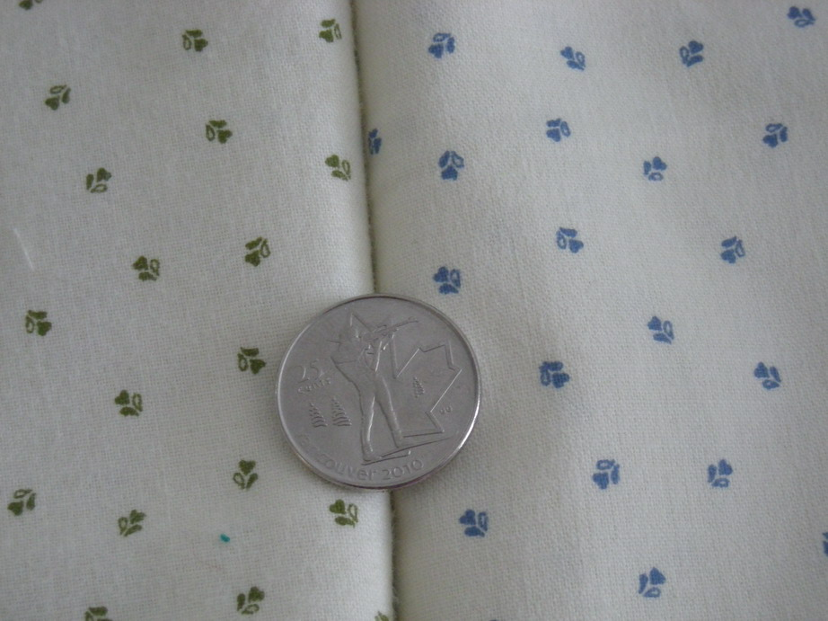 close-up of cotton prints