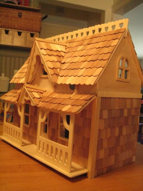 Michaels Puzzle Houses The Greenleaf Miniature Community