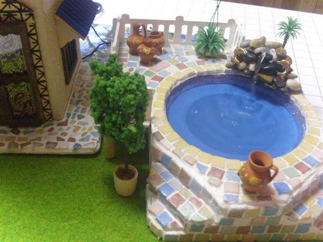 Miniature Dollhouse Swimming Pool The Greenleaf Miniature Community