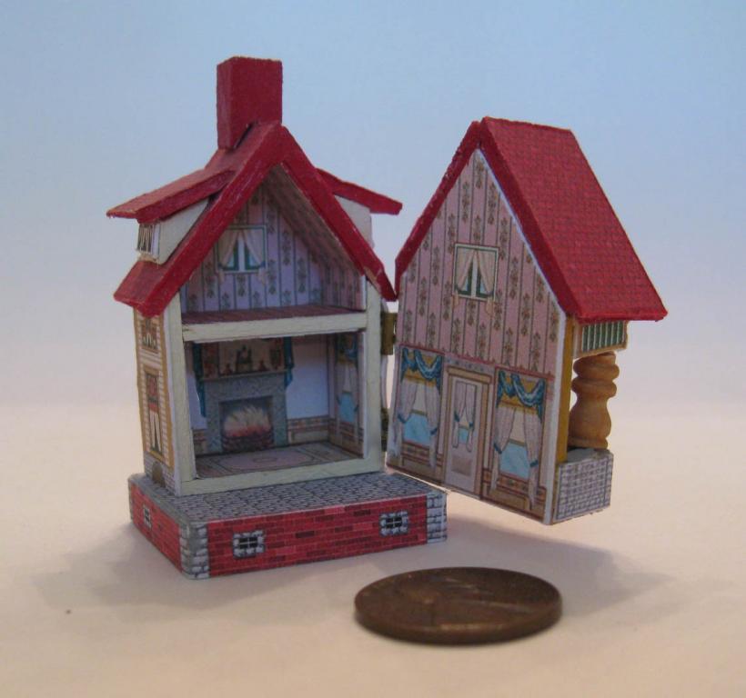 Bliss keyhole house