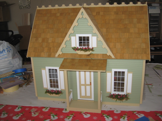 Colleen's Cottage - made for my mother-in-law (her reque