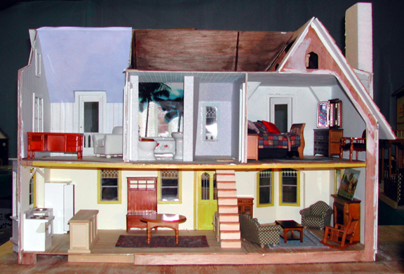 10 It S Looking Like A Home The Westville Dollhouse