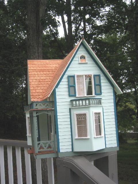 Finished The Westville Dollhouse Kit Construction Blog