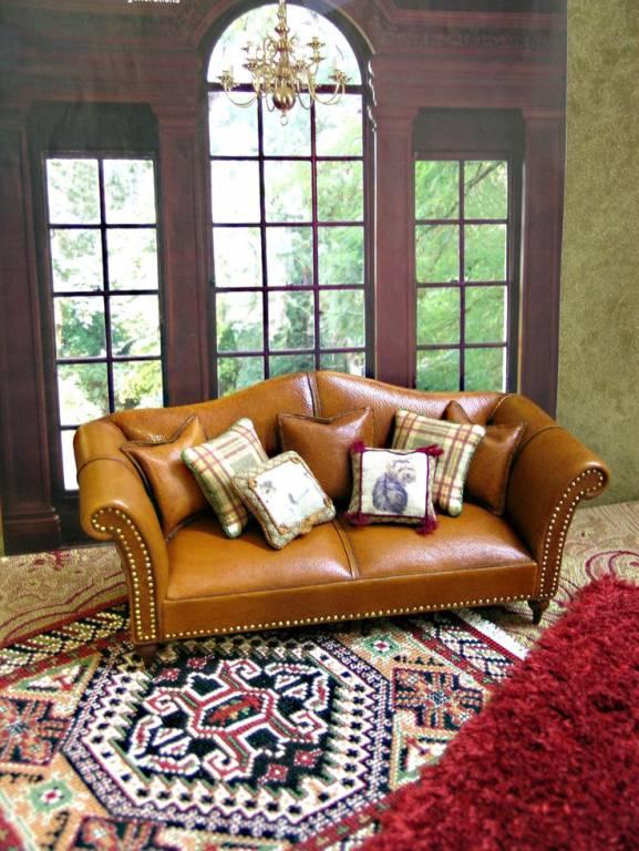 Best Mini Leather Sofa Ever!