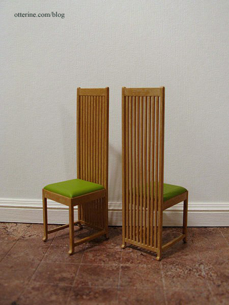 REAC Frank Lloyd Wright Chairs