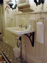 Wall sink - detail