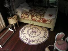 Rose rug - paper mockup