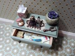 Bath cabinet - open drawer