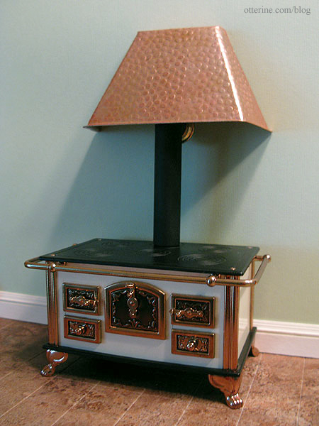 Bodo Hennig stove by bodo hennig and a hammered copper range