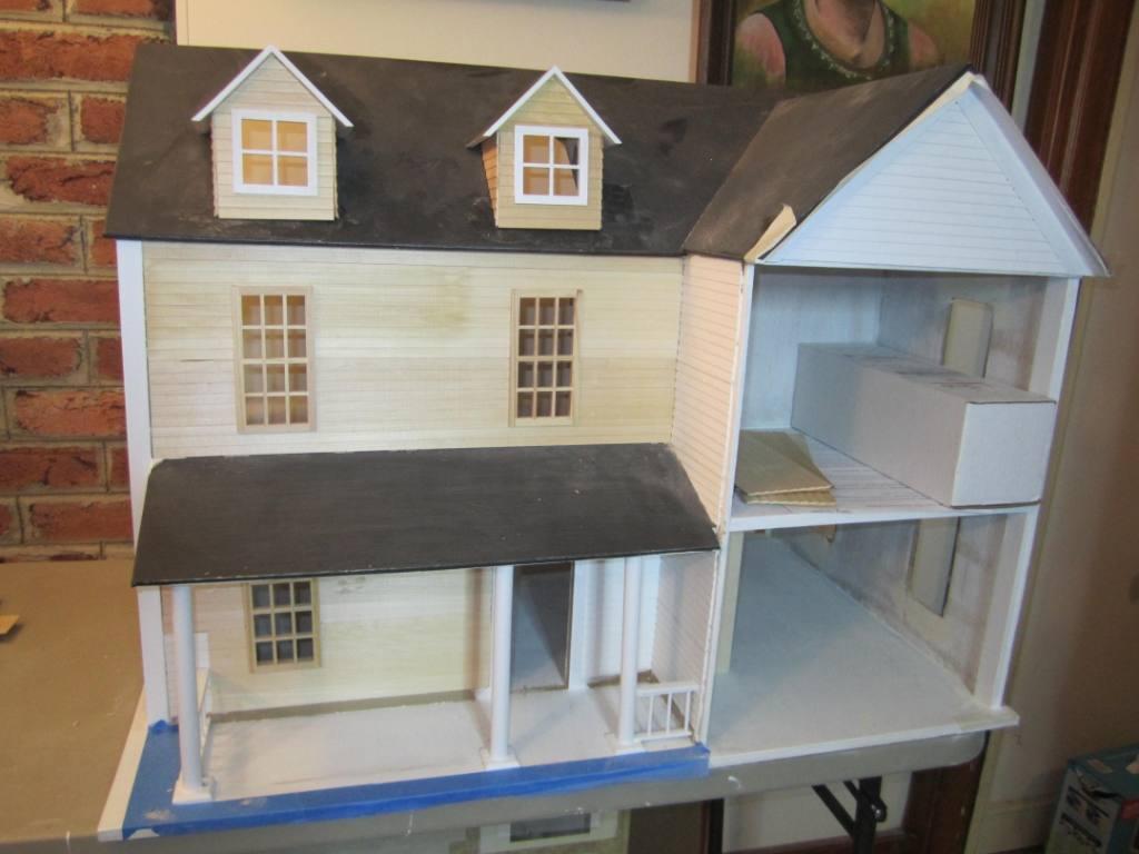 Cumpson Farmhouse progress