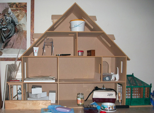 dollhouse And cats 001
