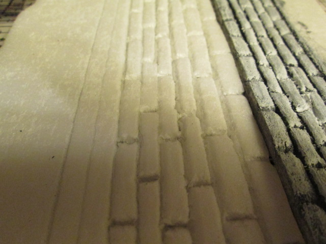 Foam board bricks