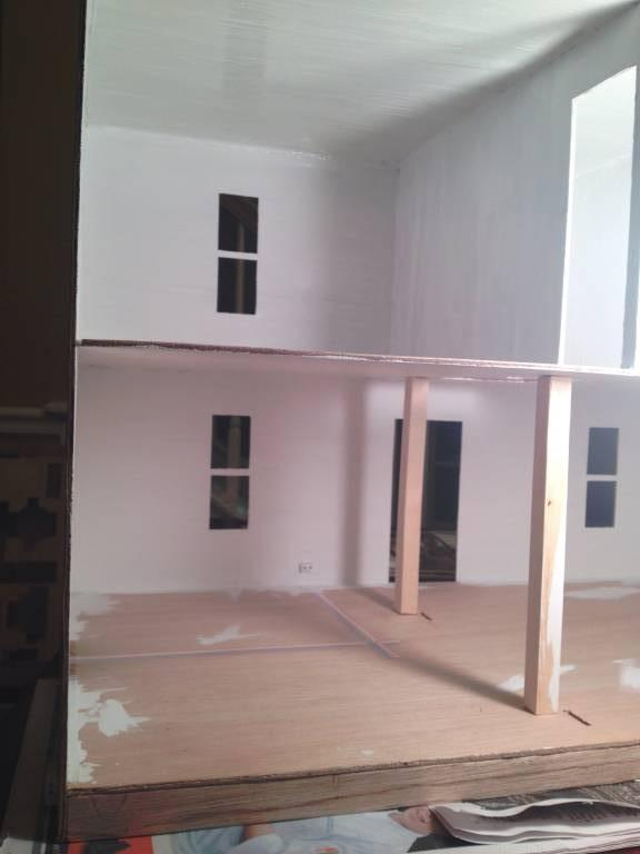I decided my Will will have an open floor plan on the first floor.