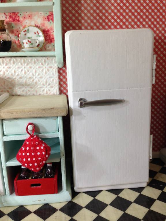 Handmade Old Fashioned Refrigerator