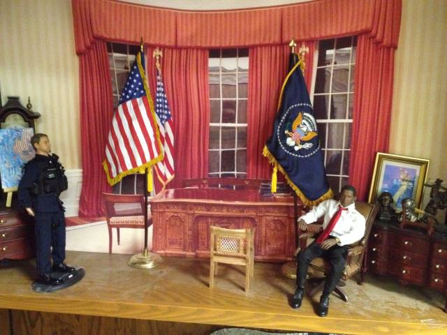 The Oval Office My 1 6 Action Figures For Whom The