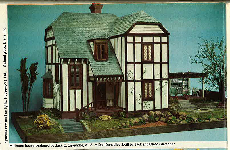 Doll House Kit Plans Interior