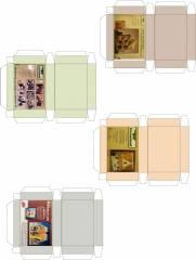 Printies of Greenleaf's dollhouse boxes