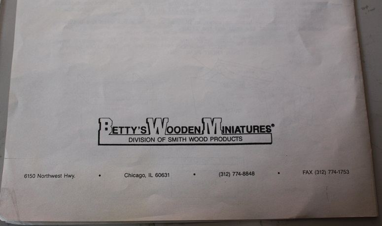 Trademark Symbol -  Betty's Wooden Miniatures