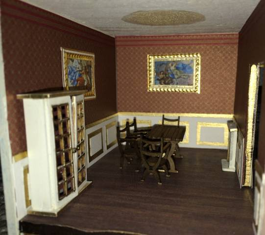 Salle A Manger 1 48 French Chateau Gallery The Greenleaf Miniature Community