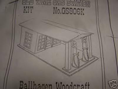 Old Time Gas Station, by Ballhagen Woodcraft