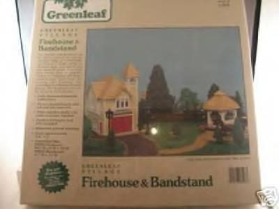 Firehouse and Bandstand, 1:48 scale, Greenleaf