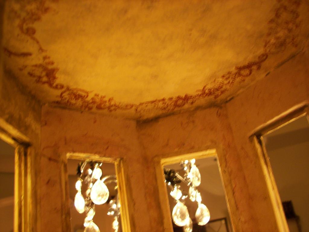 Around the ceiling