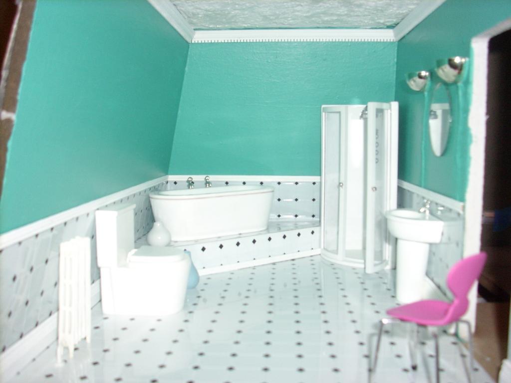bathroom nearly done!