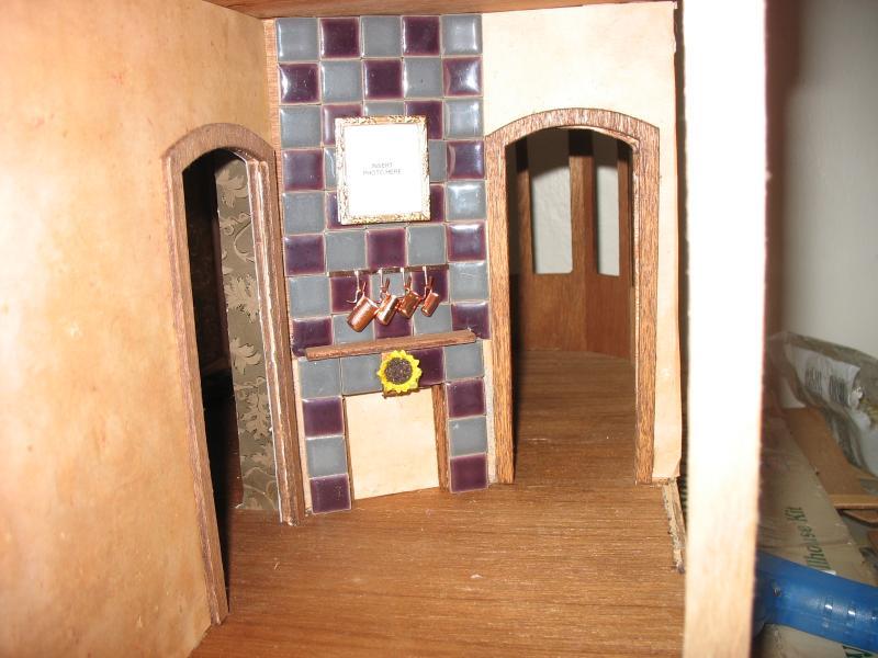 Willowcrest Kitchen Fireplace