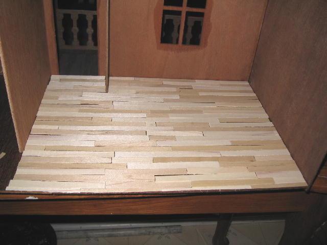 Laying Livingroom Floor