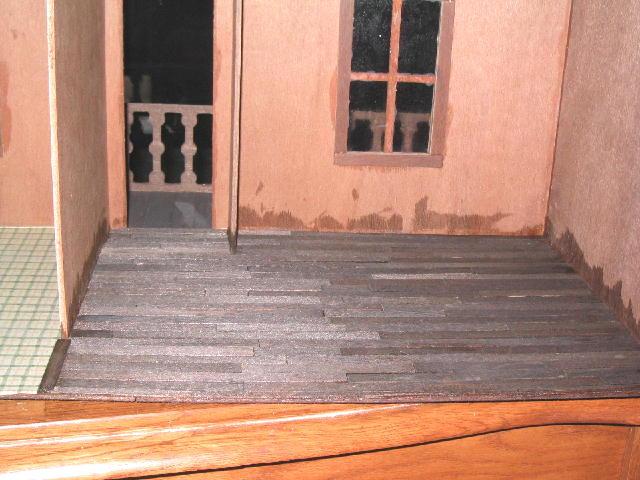 Livingroom Floor Aged
