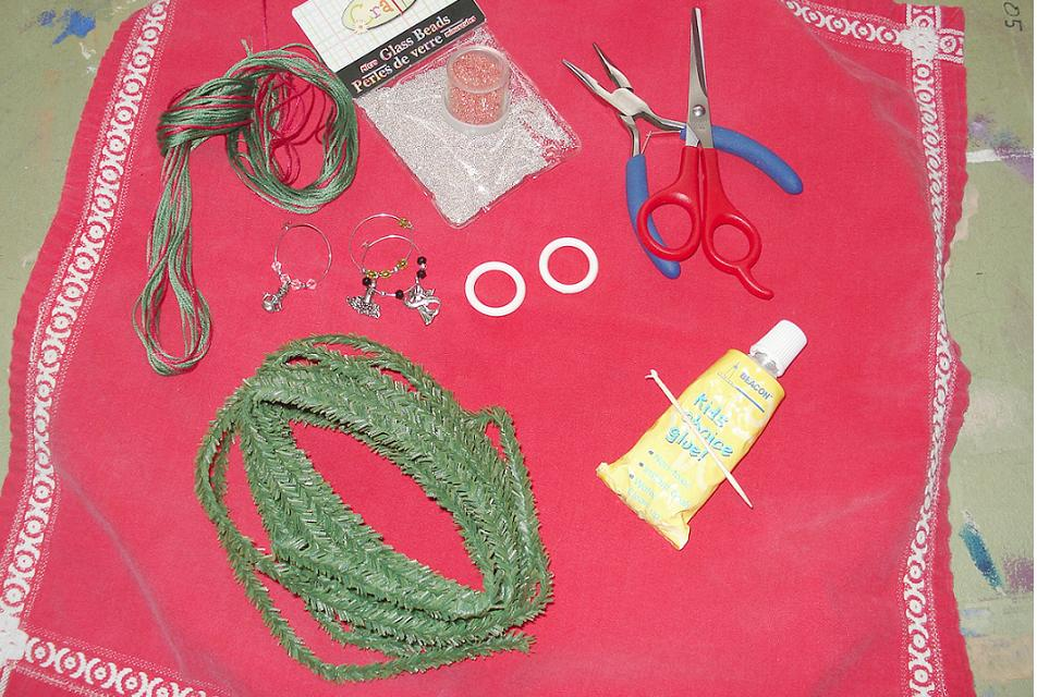 These are the supplies and tools I used.