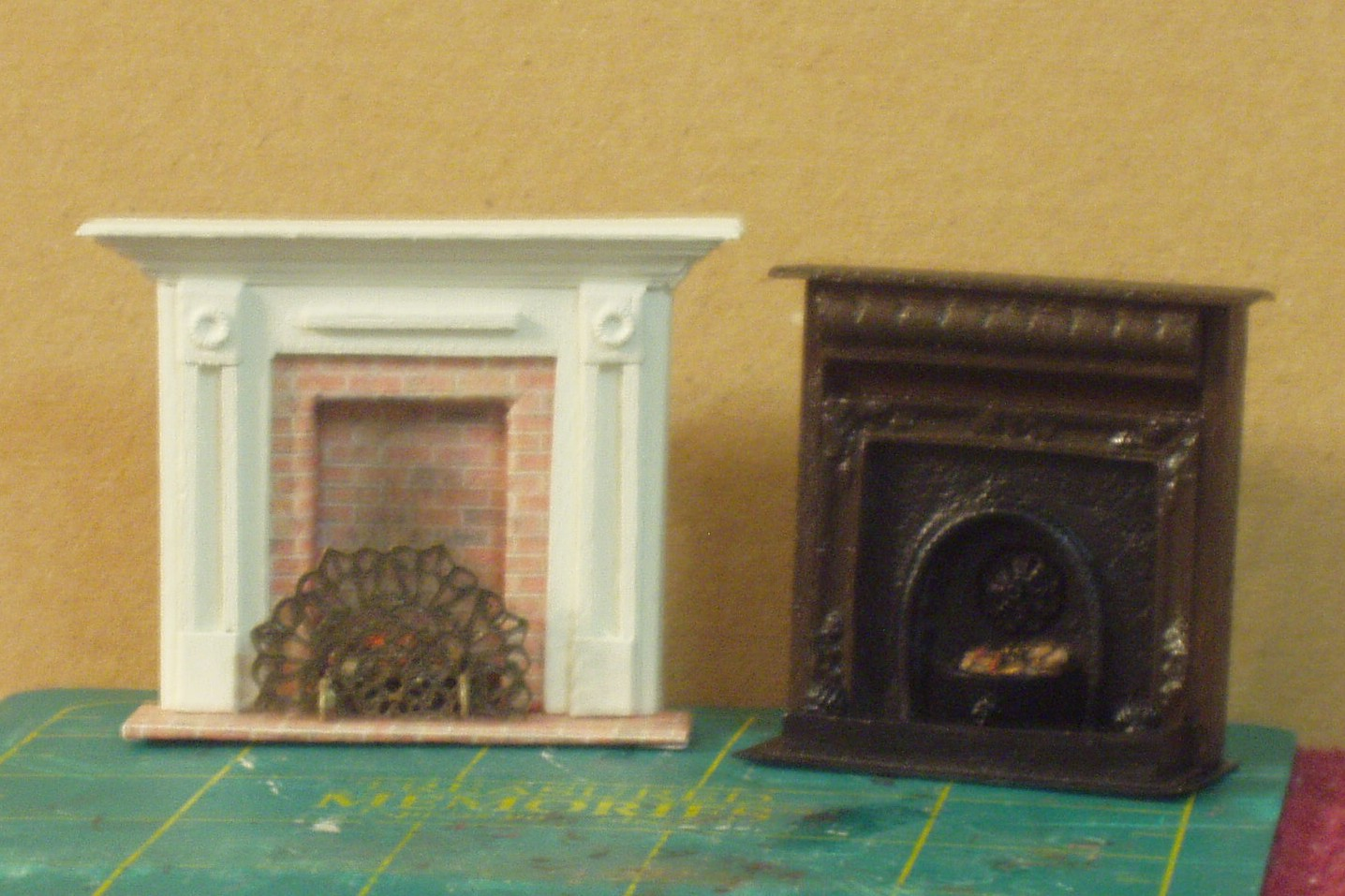 BUILDING HALF SCALE FIREPLACES The Greenleaf Miniature