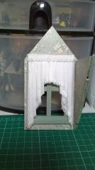 Dry fit:  attic dormer window