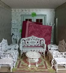 Dry fit:  formal parlor fabric auditions