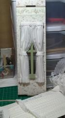 Same window with curtains