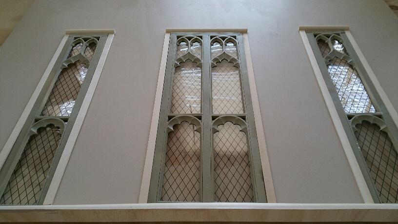1 6 Scale Gothic Windows