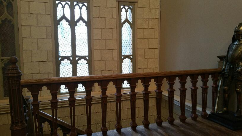 Second Floor Staircase Balusters