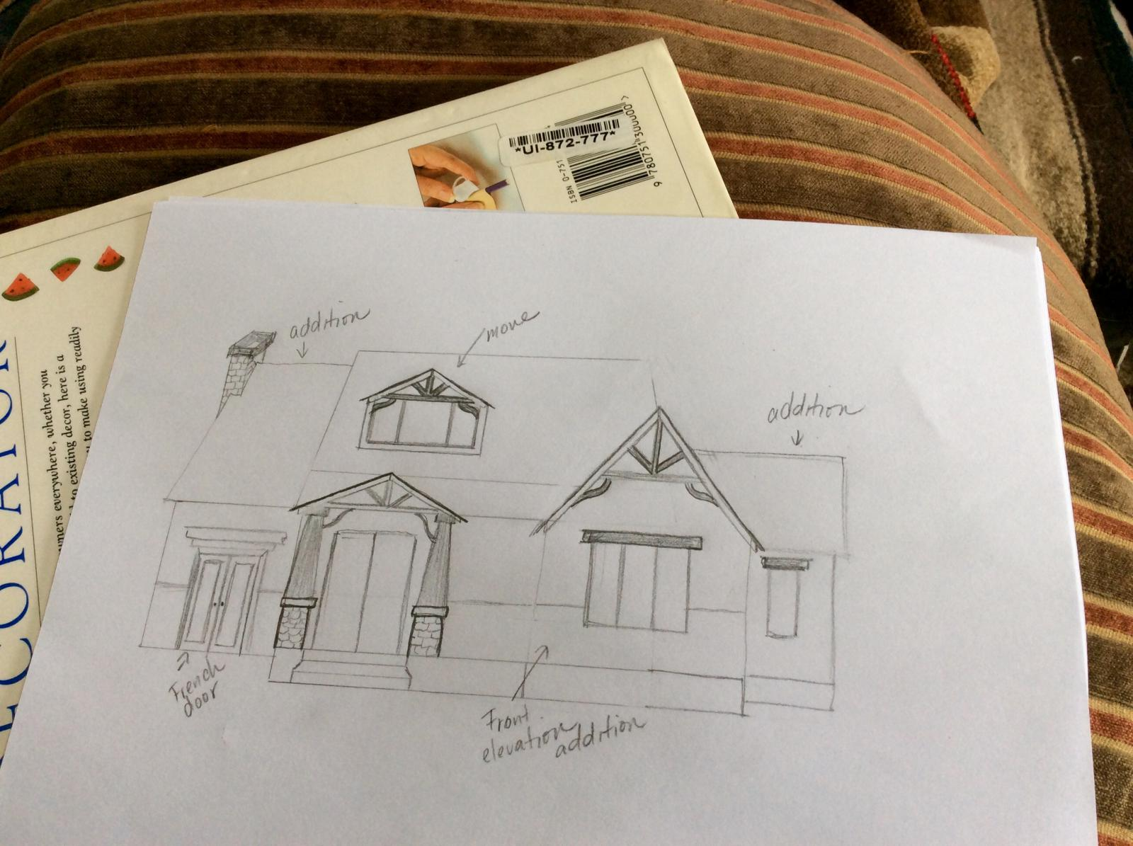 Sketch of potential ideas for Bungalow Bash